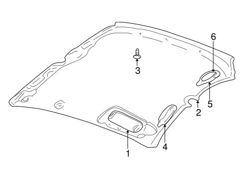 Interior Trim Roof for 2005 Dodge Neon #2: 75a8599caeb03abf0472c241bf24cb99
