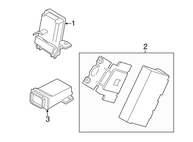 2015 2019 Ford Module Fl3z 19h332 B