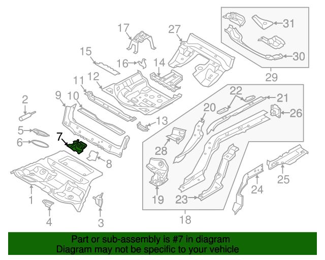 Audi Inner Bracket 8w0 802 695 Oemaudiparts