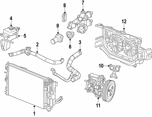 radiator & components for 2012 jeep patriot #0