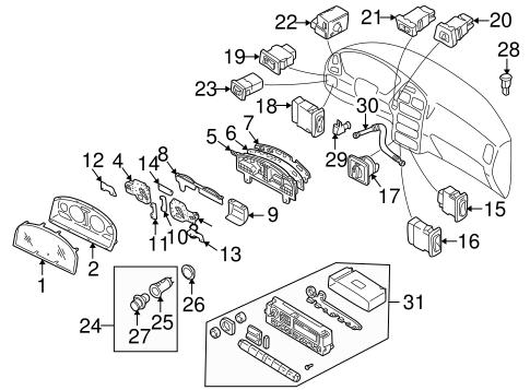 2001 Infiniti Q45 Fuel Filter