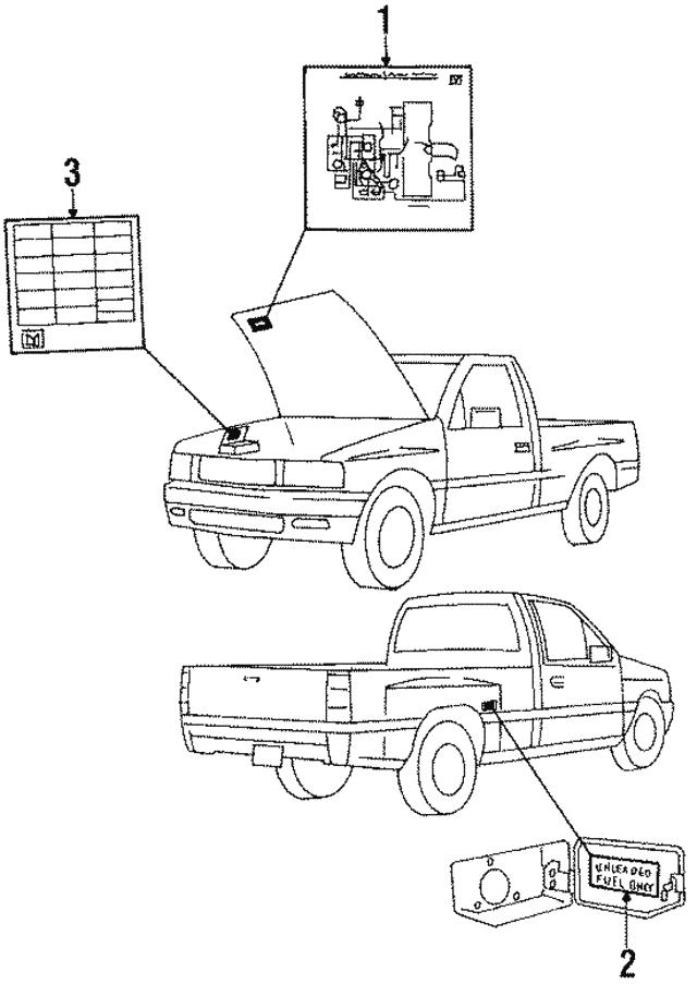 Isuzu Vacuum Diagram