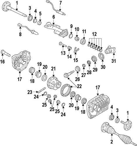 Differential For 2010 Chevrolet Silverado 1500