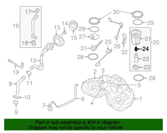 fuel pressure regulator mazda lfb6 13 280 mazdaswag rh mazdaswag com mazda 6 fuel system diagram Mazda 3 Wiring Diagram