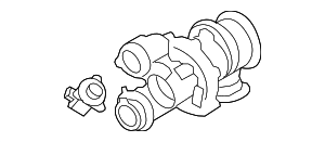 Turbocharger - BMW (11-65-7-646-092)