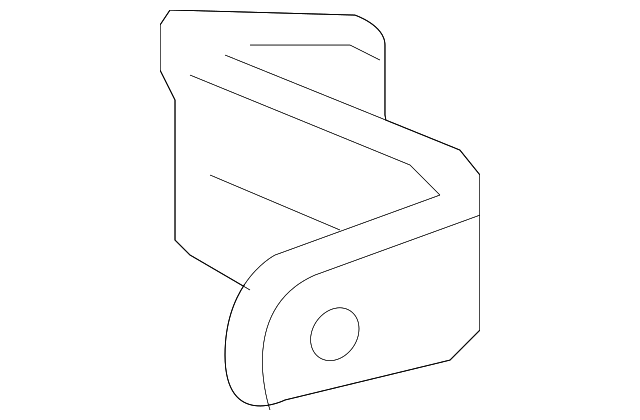 genuine honda lower bracket 60215