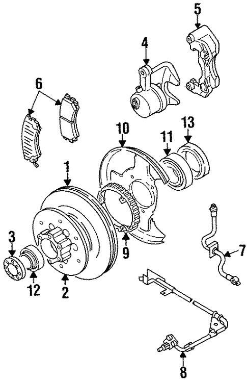 Anti Lock Brakes For 2002 Isuzu Trooper