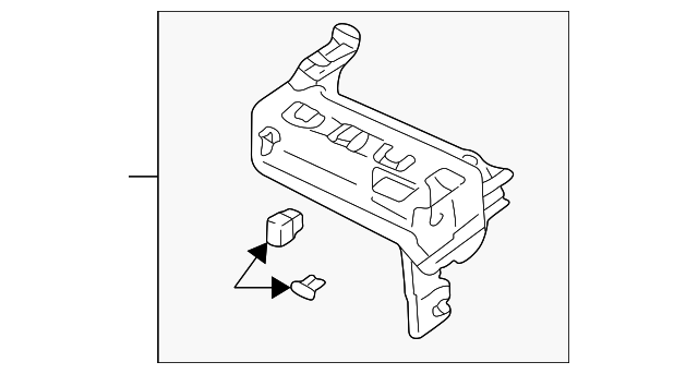 fuse box - gm (30020837)