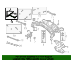 Tie Rod Assembly - Mercedes-Benz (210-350-21-53)