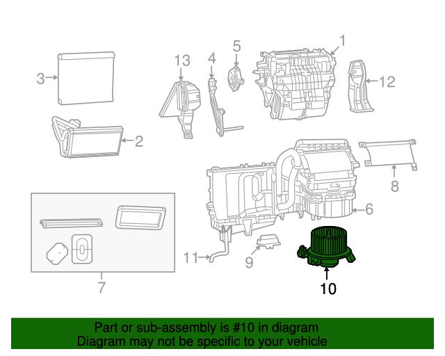 blower motor mopar 68232372ac billion oem. Black Bedroom Furniture Sets. Home Design Ideas