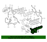 Exhaust Manifold - Mercedes-Benz (157-090-01-80-80)
