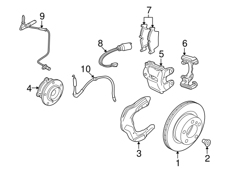Brake Components For 2014 Bmw X1