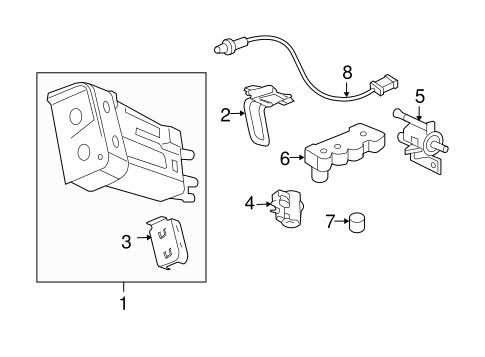 emission components for 2011 chevrolet hhr. Black Bedroom Furniture Sets. Home Design Ideas