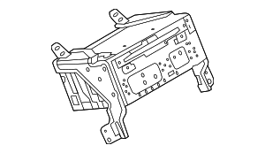 Radio Control Unit - Ford (DG1Z-18C869-HA)