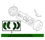 Brake Shoes - Kia (58305-3CA00)