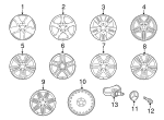 Wheel - Mercedes-Benz (6-6-03-1472-64)