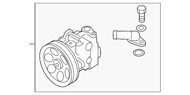subaru power steering pump  34430fg011  for sale