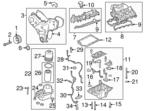 Engine Parts For 2018 Land Rover Range Rover