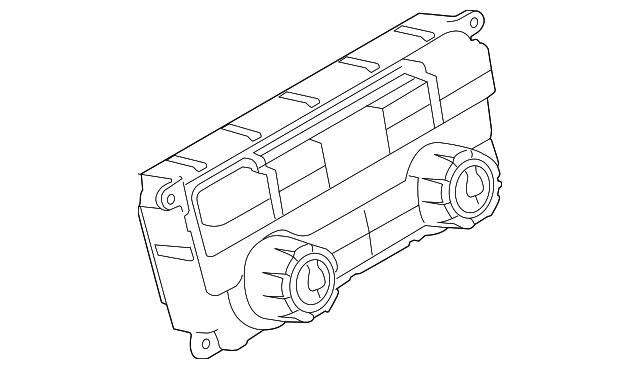 Genuine Ford Dash Control Unit Bl3z 19980 V