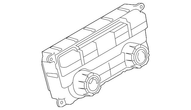 2010 Ford F 150 Dash Control Unit Al3z 19980 K