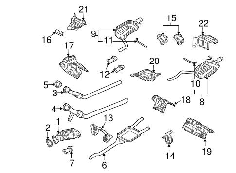 67ecb48bddc0bdae51ce74c0ea7c0350 exhaust components for 2006 audi a4 audiwilmingtonparts