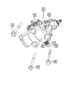 Power Steering Gear - Mopar (68210720AC)
