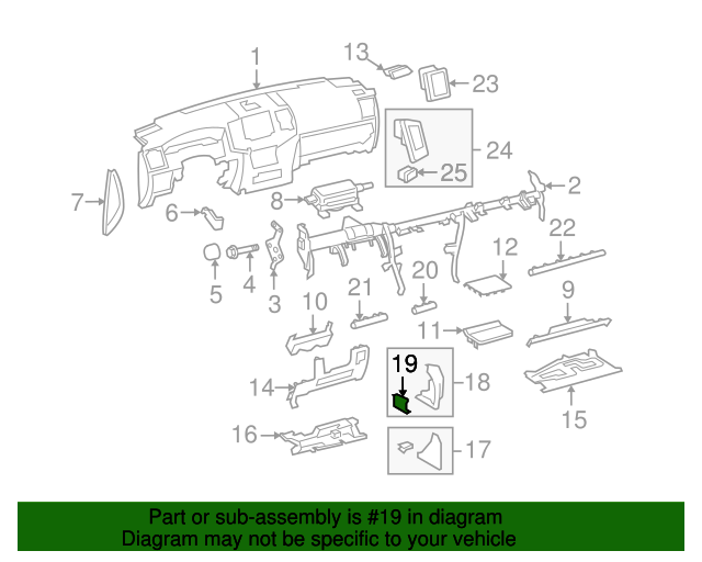 Pad Assembly Insert