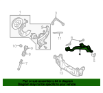 Lower Control Arm - Ford (6W6Z-3078-AA)