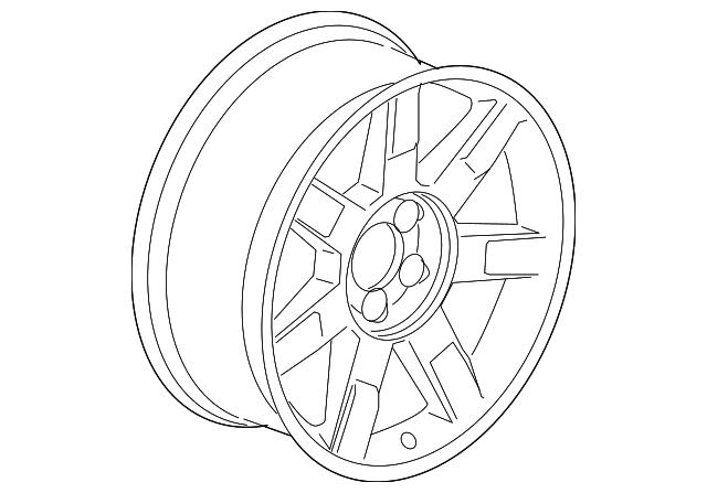 genuine oem wheel  alloy