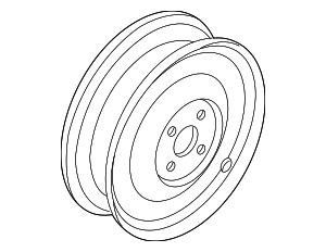 Wheel, Steel - Nissan (40300-7S000)