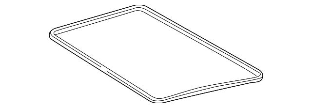 Genuine Mercedes-Benz Panel Seal 124-780-02-98