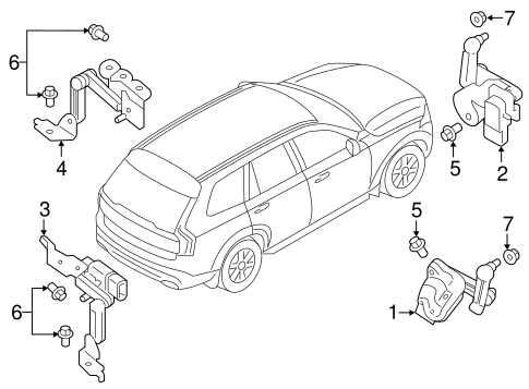 Electrical Components For 2018 Volvo Xc90