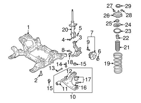 Suspension Components for 2009 Suzuki Grand Vitara | World OEM Parts SubaruWorld Suzuki Subaru Parts - World OEM Parts