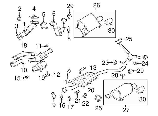 Subaru Legacy Parts Diagram Exhaust Y Pipe Subaru Auto