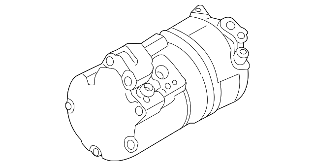 2016 2019 Bmw M2 Compressor 64 50 6 805 072