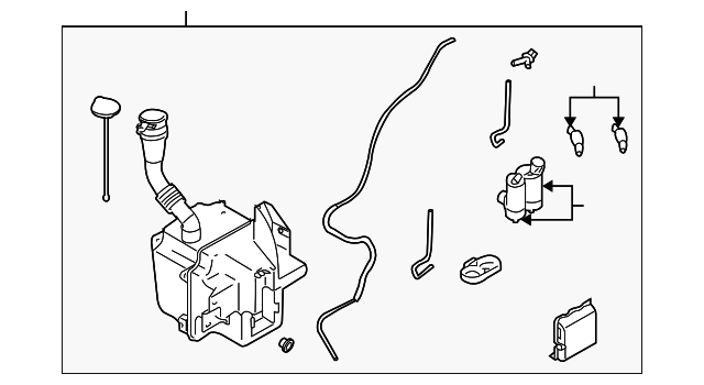 Mercedes Class C W204 Fuse Box also T14675488 Lower pulley making noise when start car moreover Change Spark Plugs 1988 Acura Legend also Subaru Reservoir Assembly 86610sa061 in addition 1230471. on 2008 acura mdx washer parts