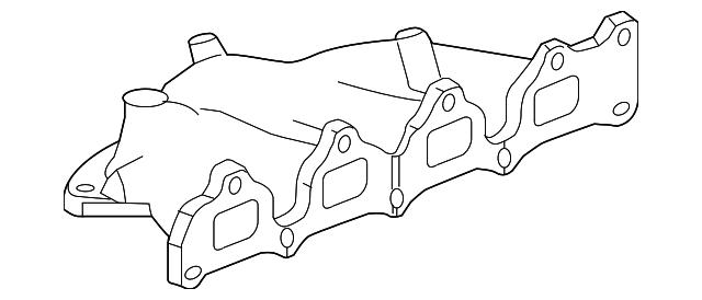 Genuine Gm Exhaust Manifold 12633603