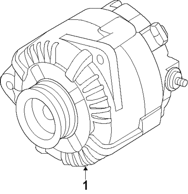 Alt Assembly Remanufactured - Nissan (2310M-3SH2BRW)