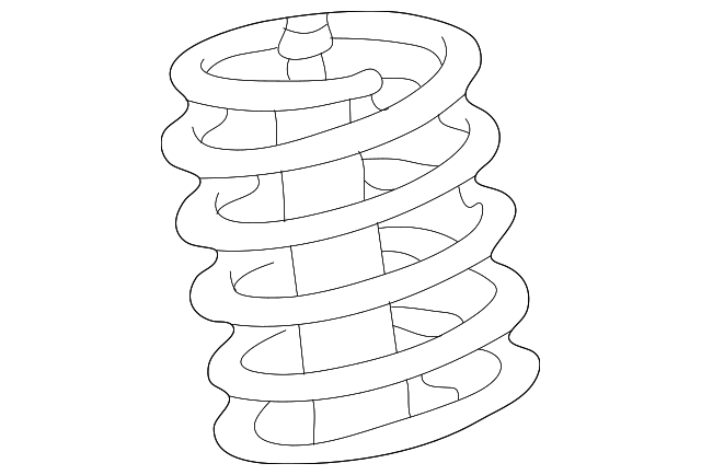 Toyota 48131-AC030 Coil Spring