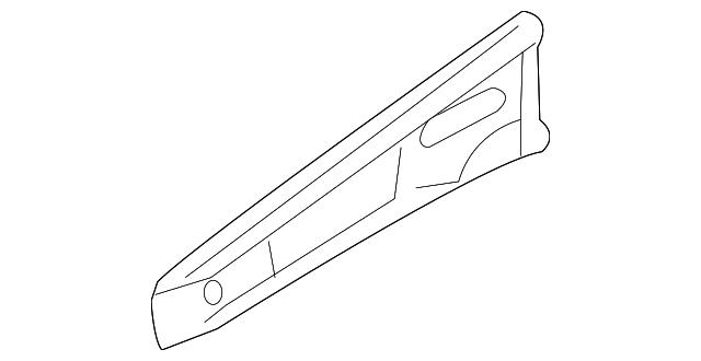 upper rail