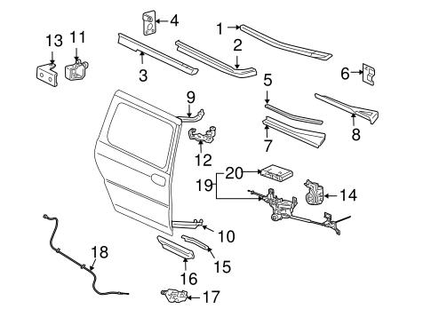 actuator assembly for 2006 pontiac montana 15266940. Black Bedroom Furniture Sets. Home Design Ideas