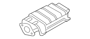 Catalytic Converter - Nissan (20800-5Y525)