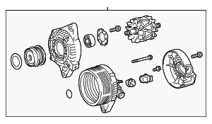 Alternator - Toyota (27060-0T370)