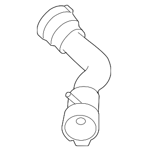 Radiator Coolant Hose - BMW (17-12-7-531-581)