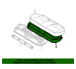 Lower Pad - BMW (52-20-3-416-581)