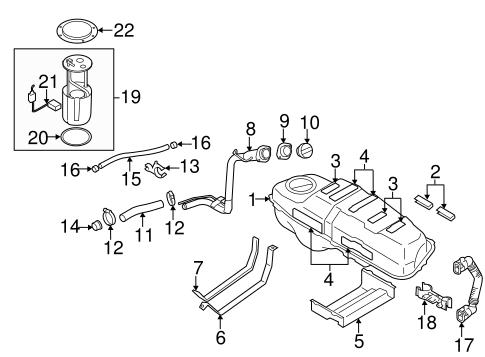 suzuki sx4 engine diagram fuel system components for 2009 suzuki sx4 world oem parts subaru  fuel system components for 2009 suzuki