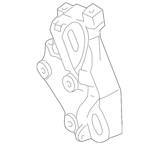 bracket  power steering pump