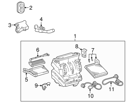 S 10 additionally Evaporator And Heater  ponents Scat together with Horn Relay Location Chevy Astro Van additionally Chevrolet Trailblazer 2005 Chevy Trailblazer Rear Heater besides F150 Vacuum Diagram 96 4 9. on chevy heater control valve core