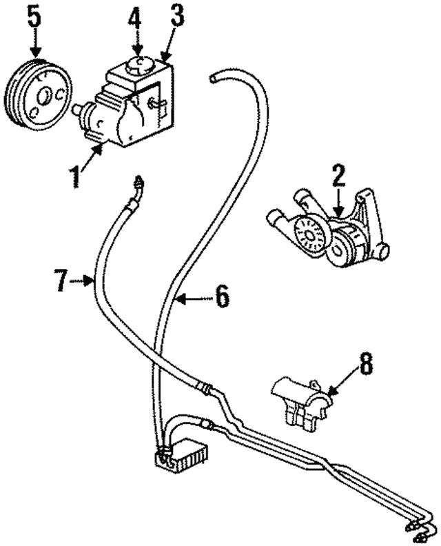 Supercharger Kits For Gmc Envoy: Return Hose - GM (26045097)