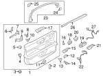 Door Trim Panel - Ford (GD9Z-5423943-BQ)